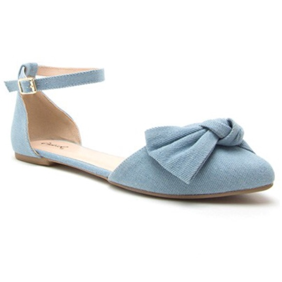 Shoes - New Arrival- Denim Flats